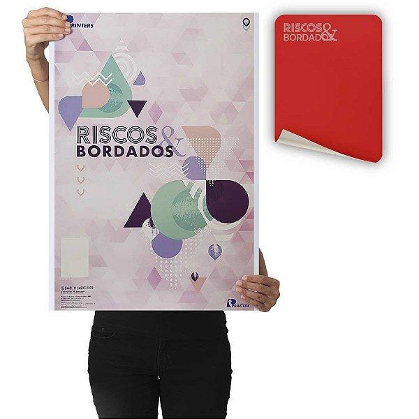 Papel Carbono Para Costura Riscos E Bordados Vermelho Printers