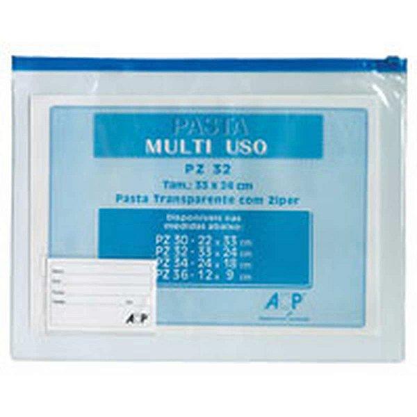 Pasta Malote Multiuso Cristal 33X24Cm Acp
