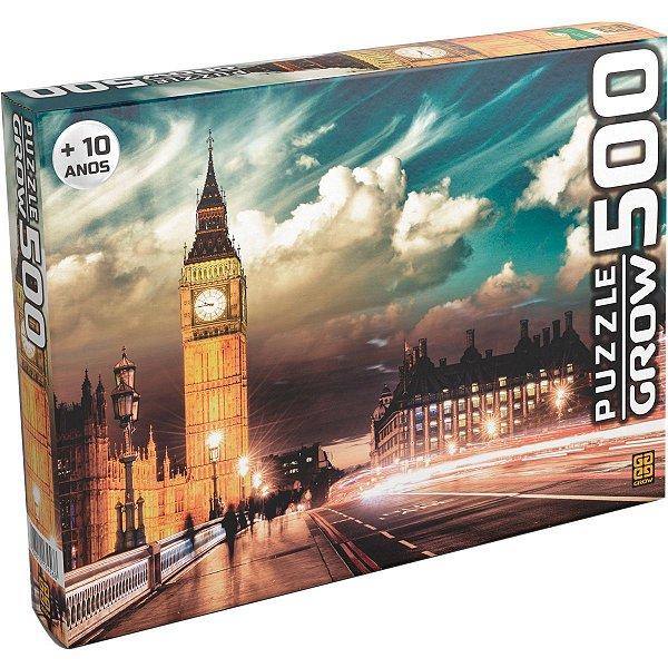 Quebra-Cabeca Cartonado Londres 500 Pecas Grow