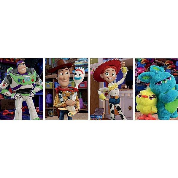 Quebra-Cabeca Cartonado Toy Story 4 60Pcs Sortidos Toyster