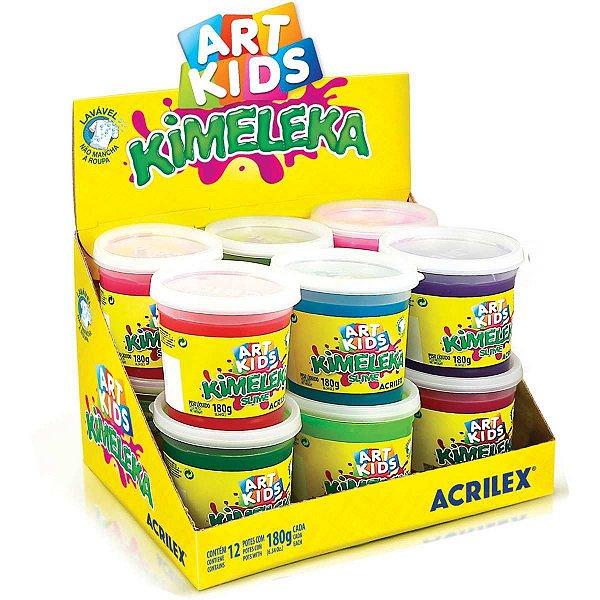 Slime Kimeleka Cores Sortidas 180G Acrilex
