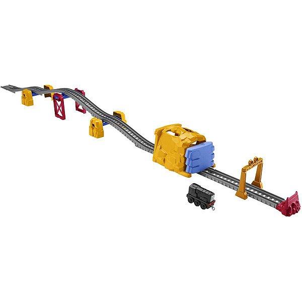 Thomas And Friends Pista Explosao De Tunel Mattel