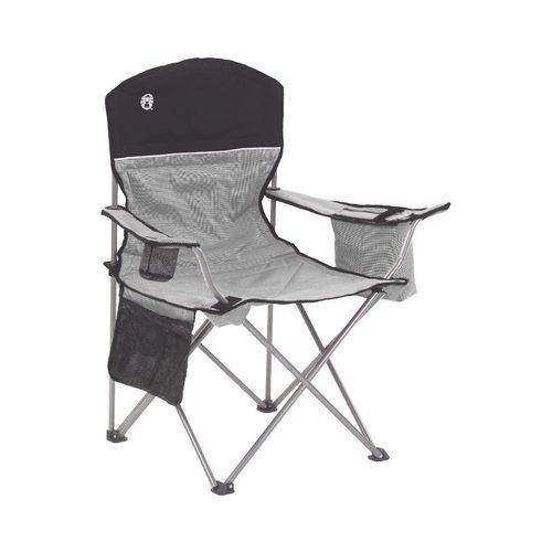 Cadeira dobravel com cooler preta