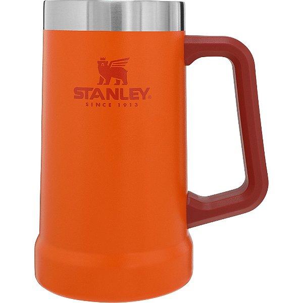Caneca termica de cerveja Stanley 710ml laranja