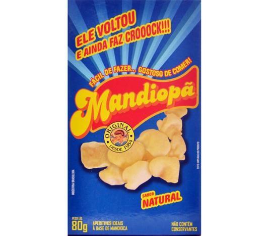 MANDIOPÃ SABOR NATURAL 80G