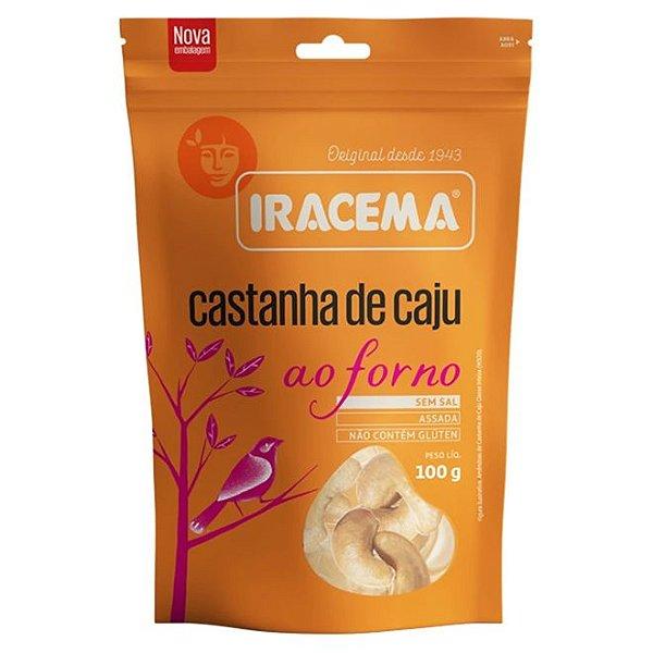 CASTANHA DE CAJU AO FORNO 100G