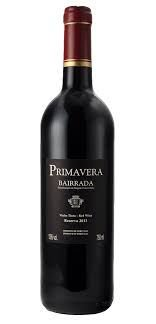 Vinho tinto Primavera reserva bairrada portugal