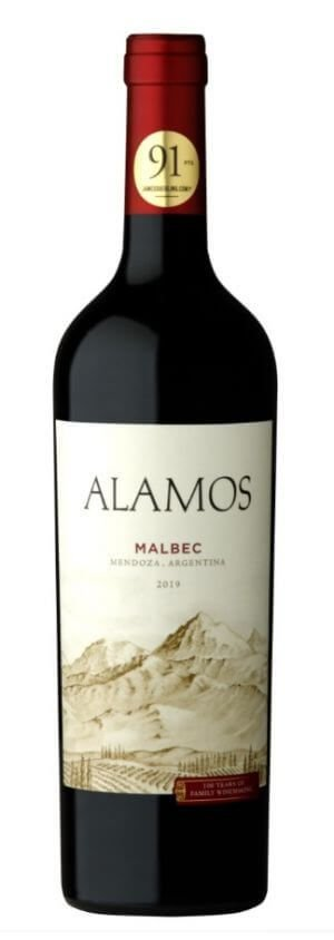 Vinho tinto Alamos malbec 2019 (Catena Zapata)