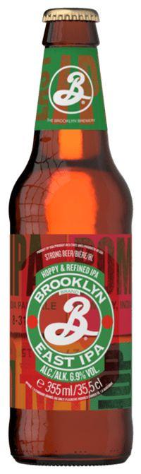 Cerveja Brooklyn East IPA LN 355ml