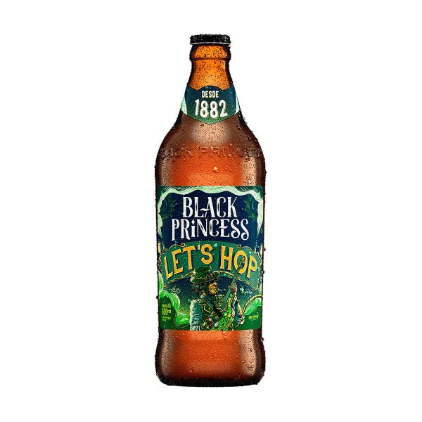 Cerveja Black Princess let's Hop IPA 600ml
