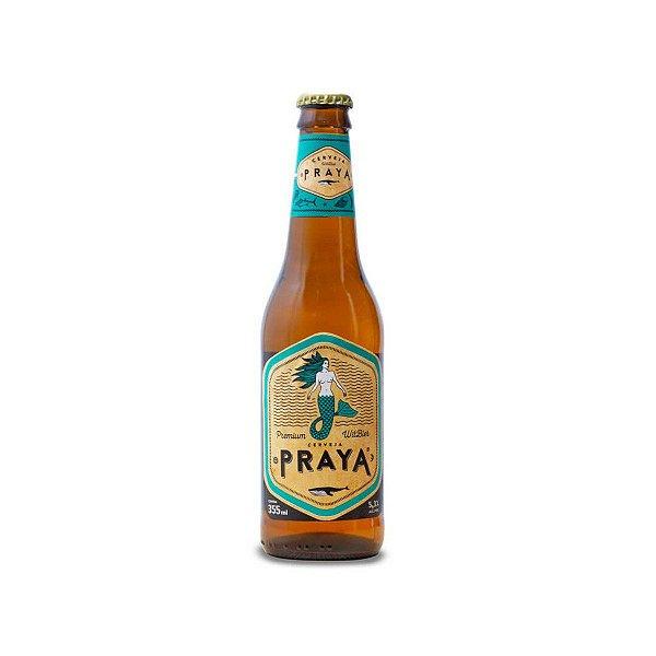 Cerveja Praya witibier LN 355ml