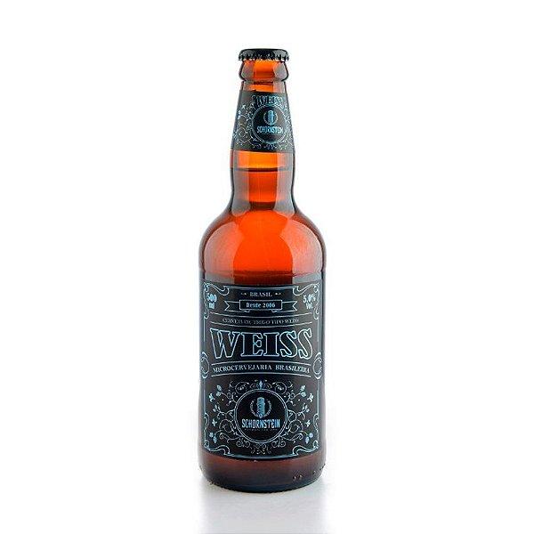 Cerveja Schorstein weiss garrafa 500ml