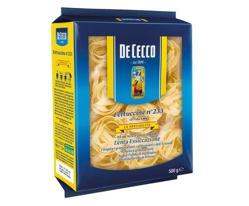 Macarrao italiano De Cecco fettucine nidi di semola 500g