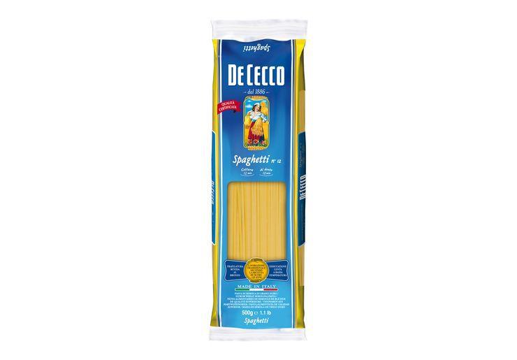 Macarrao italiano De Cecco spaghetti 500g