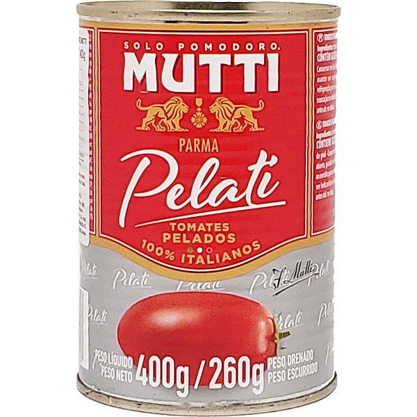Tomate pelado italiano Mutti lata 400g