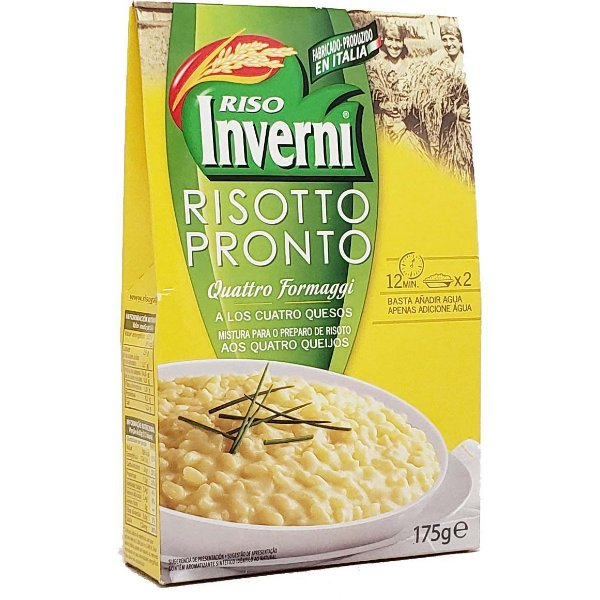 Risoto italiano Inverni 4 formaggi 175g