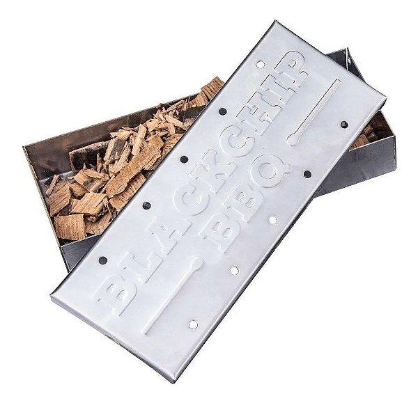 Smoke box para defumação com tampa