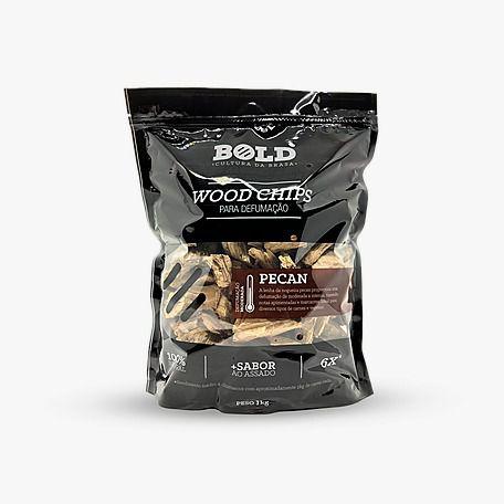 Wood Chips para defumação - Pecan 1kg