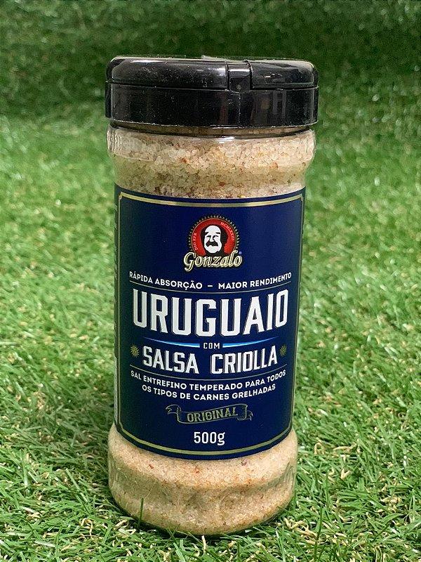 Sal Parrilha Uruguaio com  Salsa Criolla 500gr