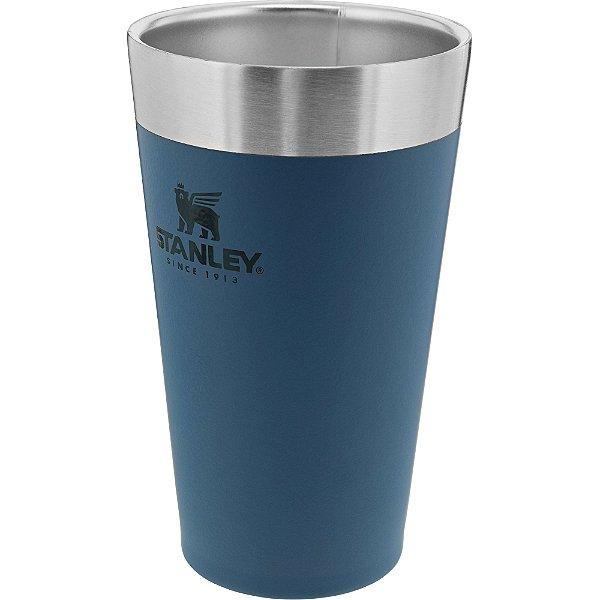 Copo term cerveja sem tampa stanley azul 473ml