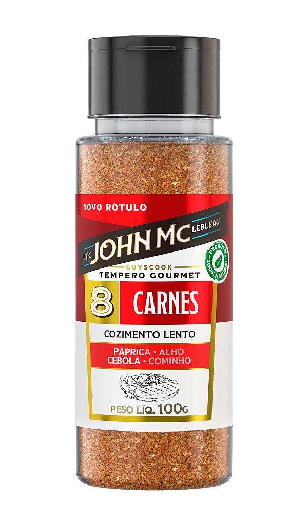 Tempero Gourmet para Carnes JohnMc 100g