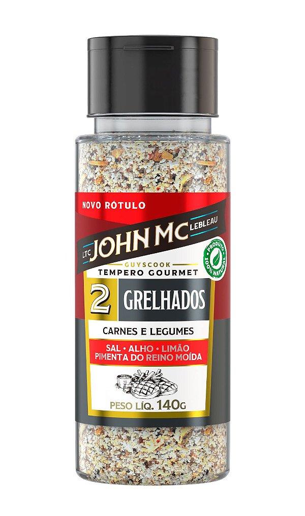 Tempero Gourmet para Grelhados JohnMc 140g