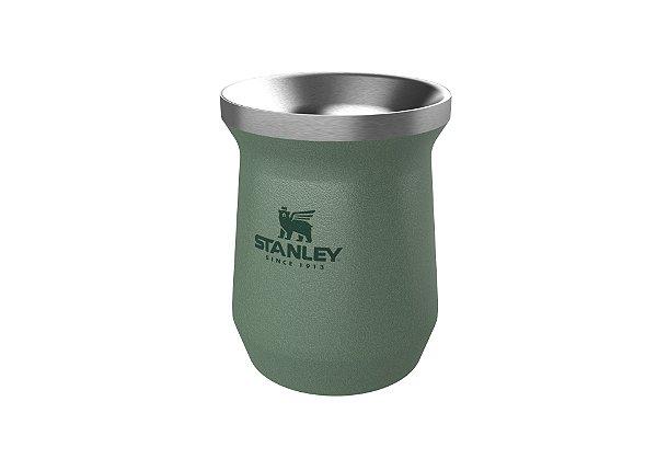 Cuia térmica stanley green 236 ml