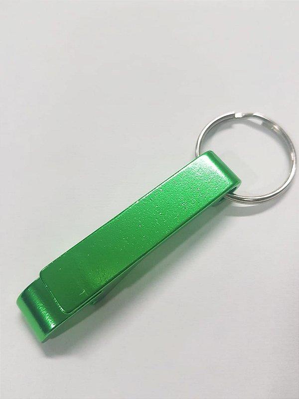 Chaveiro abridor de garrafas Tamaru Gourmet verde - personalizável