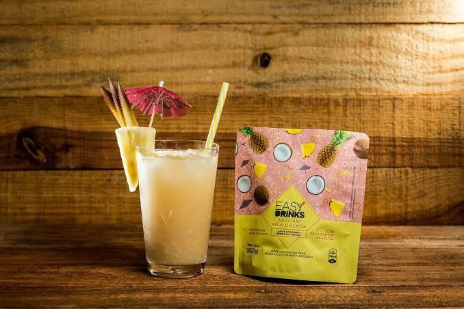 Drink Monodose prep. frutas abacaxi e coco 100g