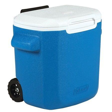 Cooler termico 016 qt (15,1 L) azul c/ rodas