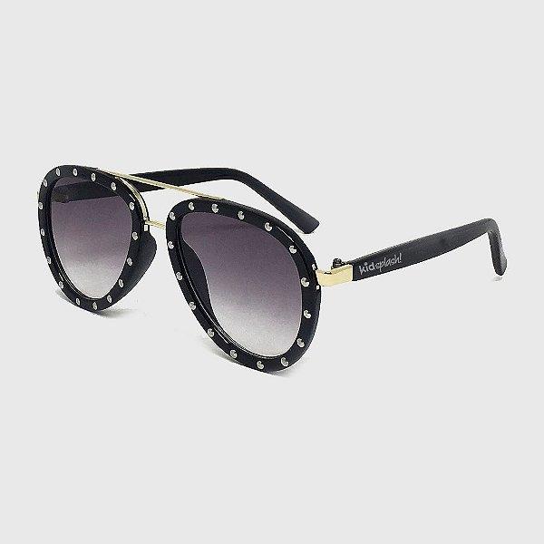 Óculos de Sol Infantil com Proteção UV400 Acetato Aviador Spikes