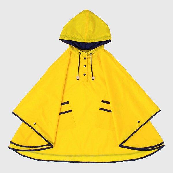 Capa De Chuva Lisa Amarela