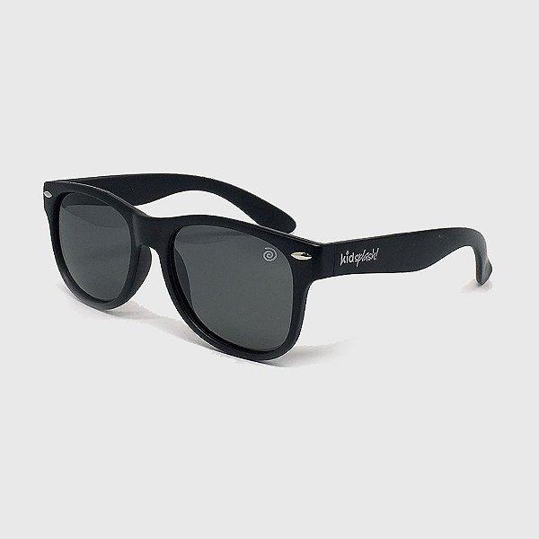 Óculos de Sol Infantil Flexível com Lente Polarizada e Proteção UV400 Preto