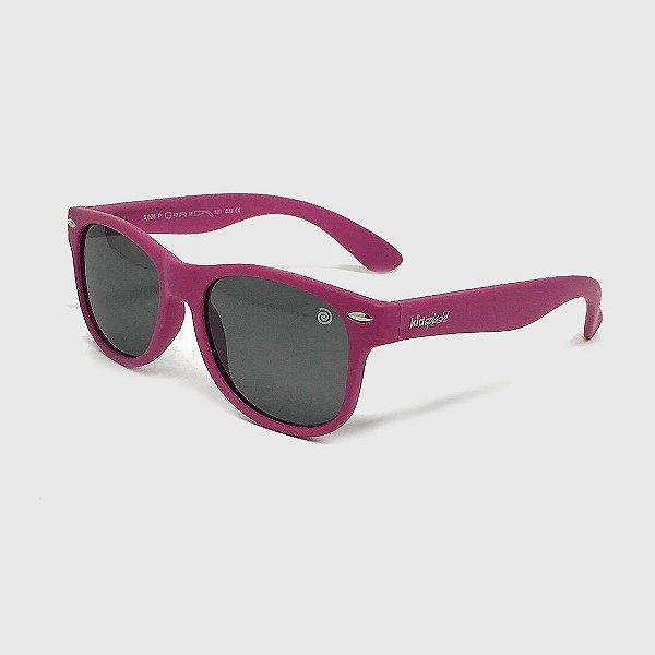 Óculos de Sol Infantil Flexível com Lente Polarizada e Proteção UV400 Pink