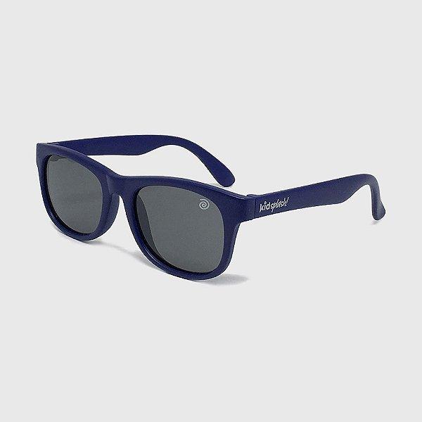 Óculos de Sol Infantil Flexível com Lente Polarizada e Proteção UV400 Azul Marinho