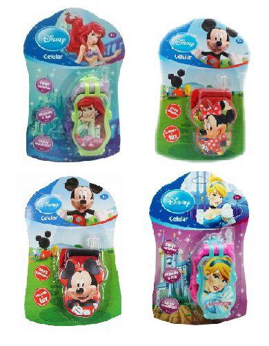 Celular com Sons e Luz Diversos Personagens | Disney