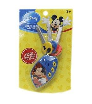 Brinquedo Chave Com Alarme Sonoro Mickey   Disney