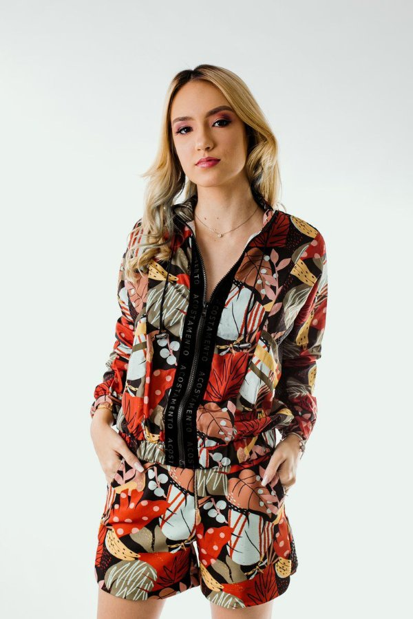 Short Fashion Acostamento Floresta