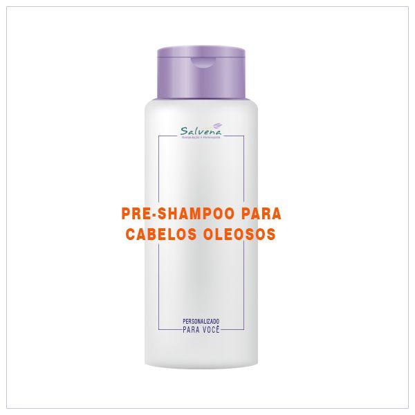 Pré Shampoo para cabelos oleosos