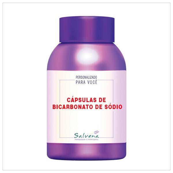 Cápsulas de Bicarbonato de Sódio