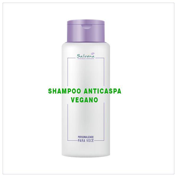 Shampoo anti-caspa vegano