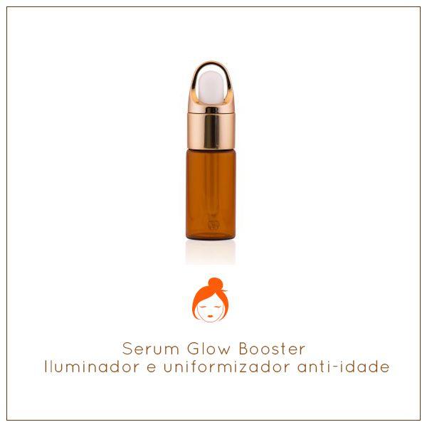 Serum Glow Booster - Serum iluminador e uniformizador anti-idade