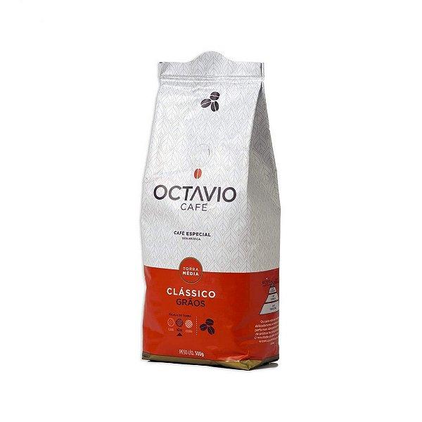 Café Octavio em Grãos Clássico 500g