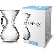 Coador Chemex com Alça de Vidro 6 Xícaras