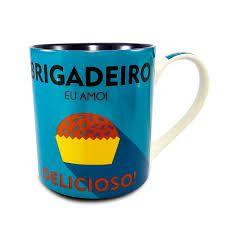 Caneca Porcelana Brigadeiro Verde 390ml
