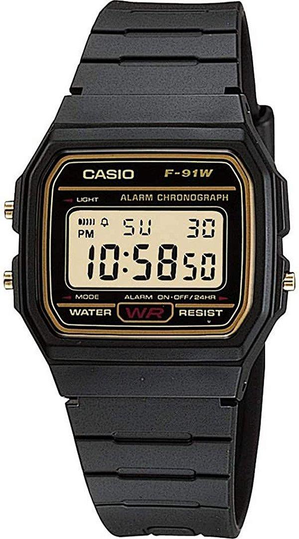 Relógio Casio Vintage F-91WG-9QDF