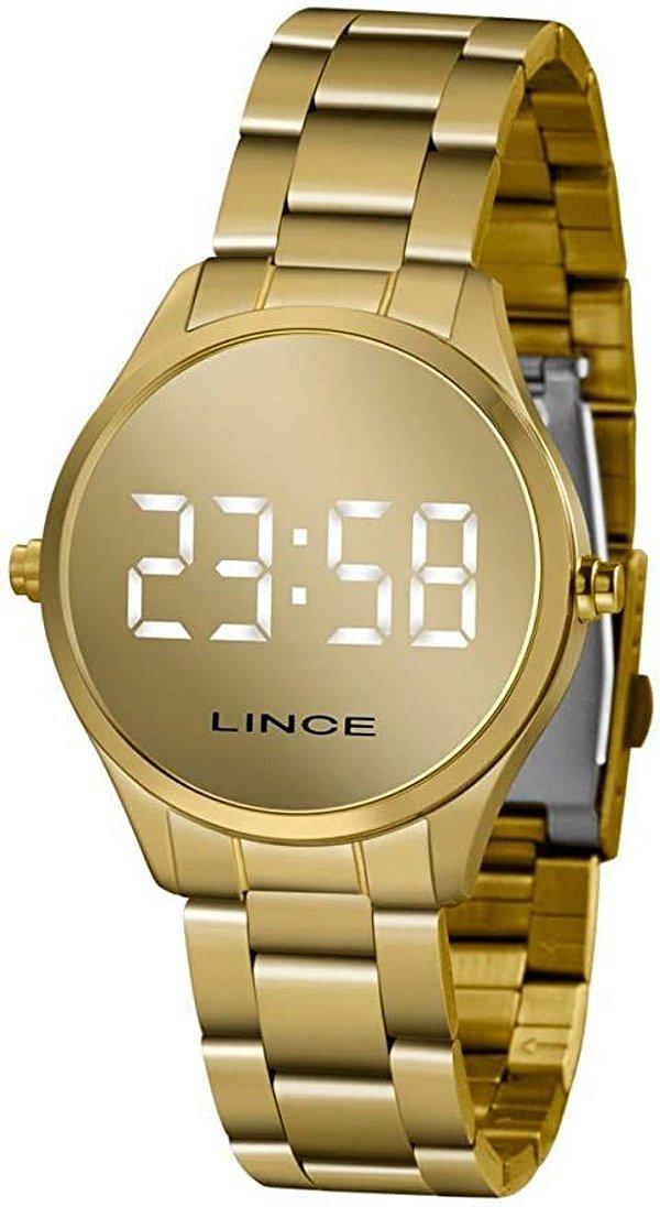 Relógio Lince Led espelhado MDG4617L BXKX
