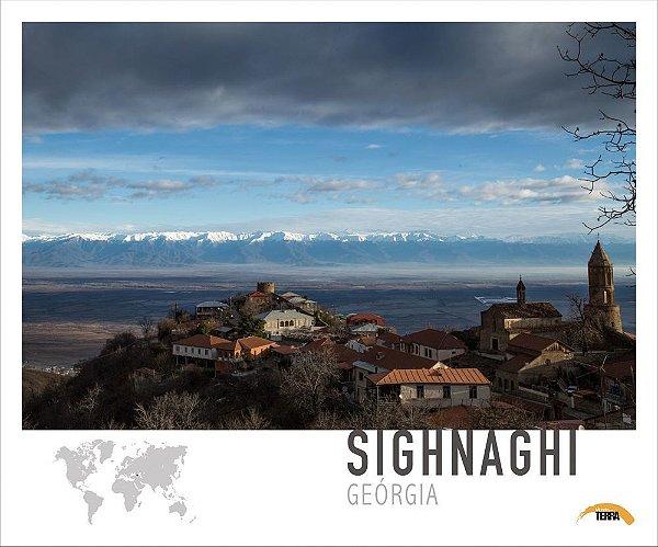 Pôster Sighnaghi - Geórgia - 70cm x 60cm