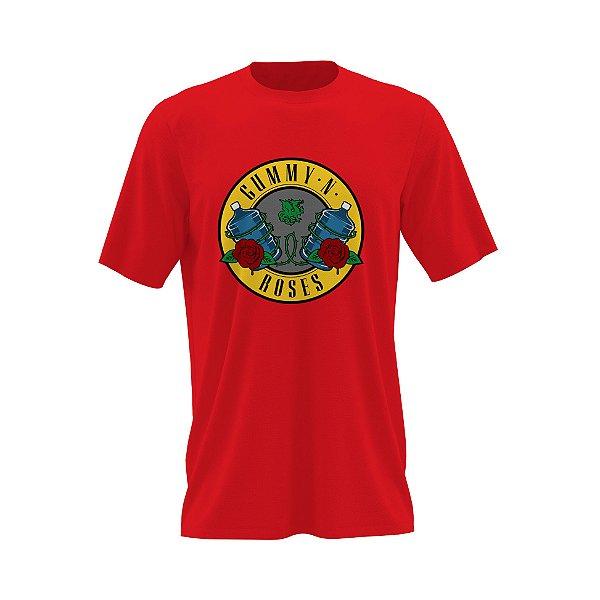 Camiseta Gummy N' Roses