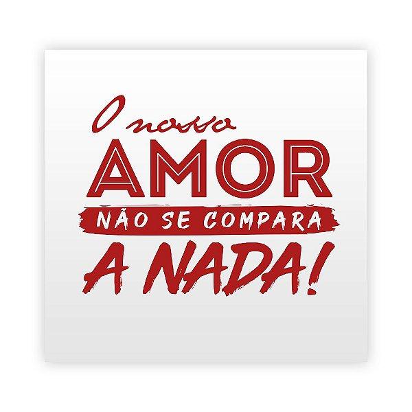 Tatuagem - Nosso Amor (7cm)